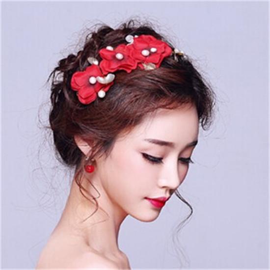 2017韩式新娘发型详细步骤
