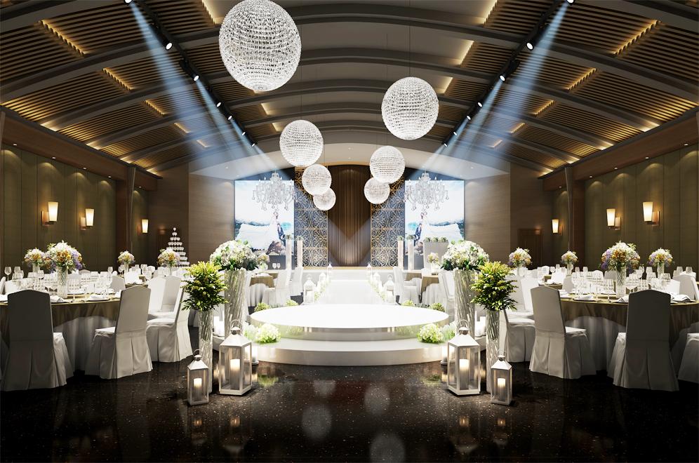 圣拉维高端婚礼会馆(世博花园店)婚宴预订