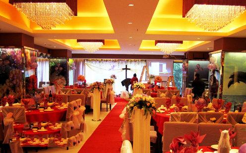 盛世海鲜饭店婚宴预订