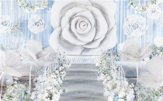 创意婚礼鲜花布置 鲜花婚礼布置方案