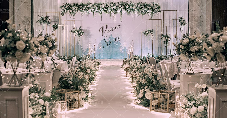 黄石小清新婚礼策划