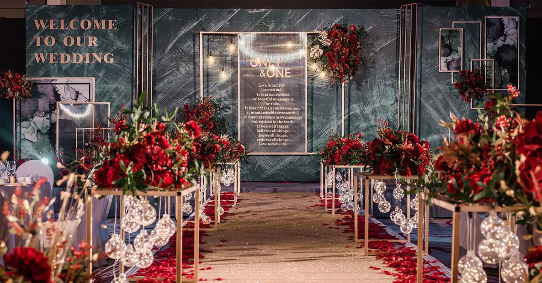 铜陵时尚高端婚礼中式婚礼布置