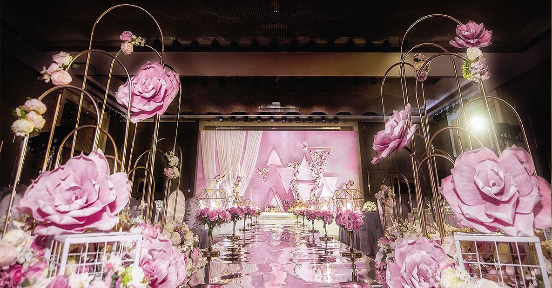 铜陵甜粉红时尚婚礼现场价格