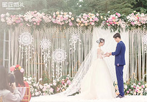 捕梦主题婚礼策划方案及婚礼现场布置图