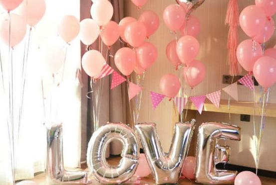 婚房氢气球布置
