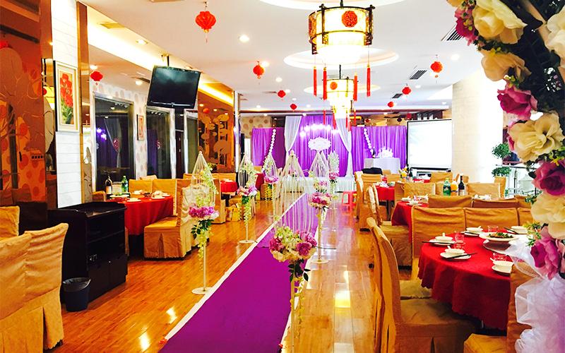 山水青国际大酒店婚宴预订