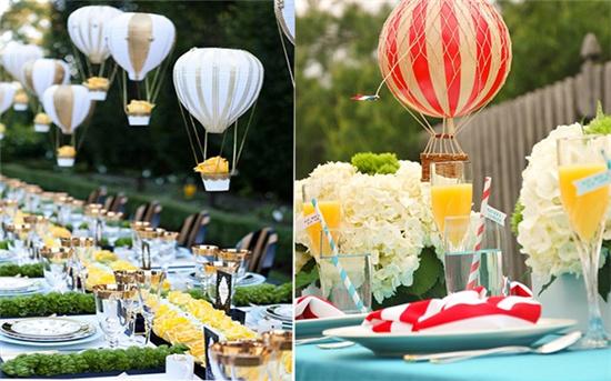 气球布置婚礼