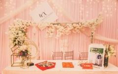 婚礼签到台是干嘛的 婚礼签到的作用