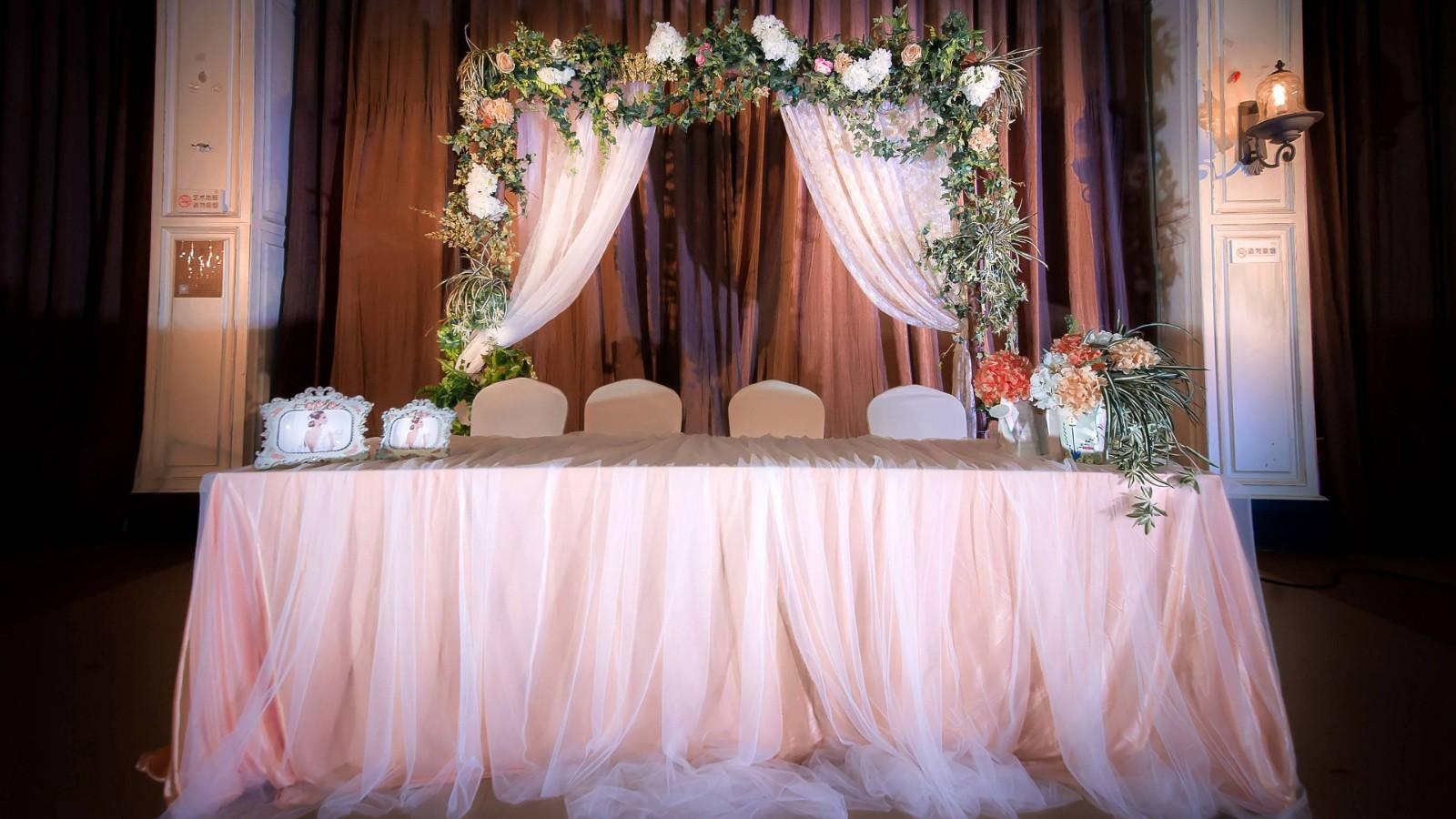 清新森系主题婚礼风格