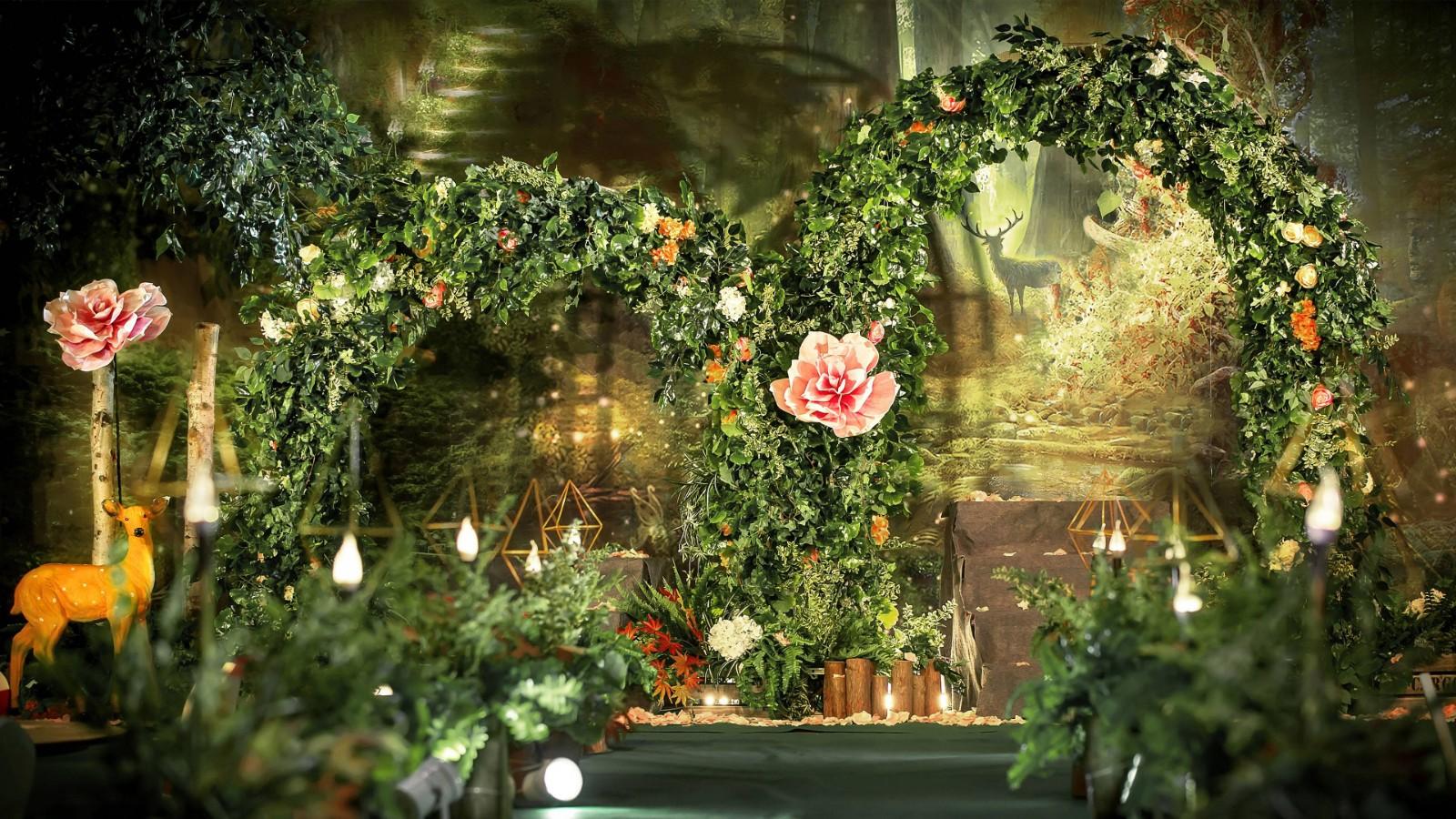 森系灵动的婚礼主题
