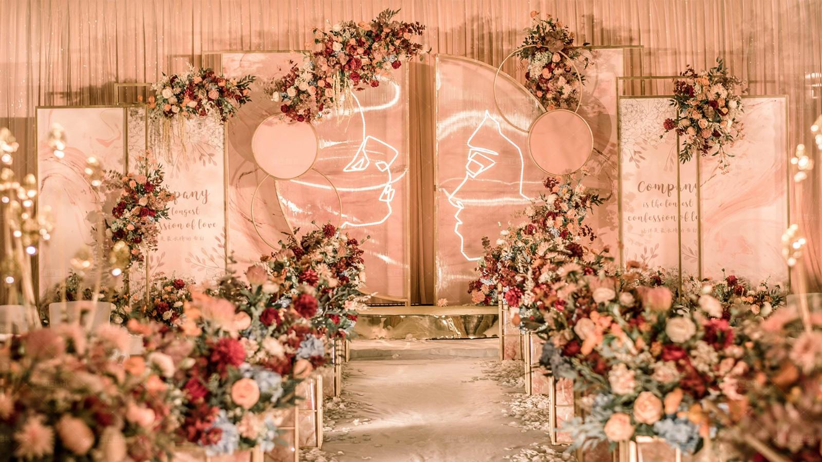 简约时尚婚礼主题风格