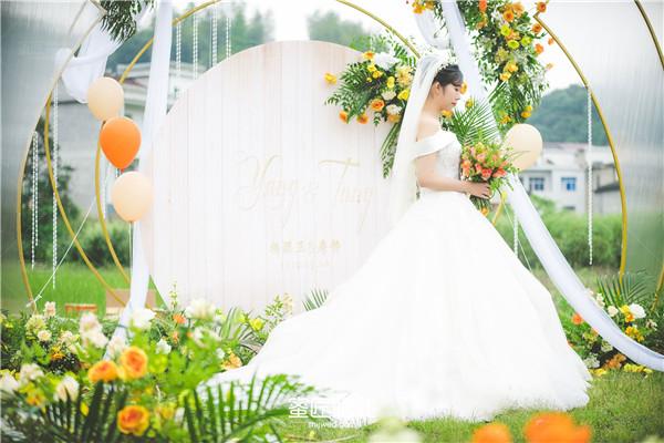 西式草坪婚礼仪式流程