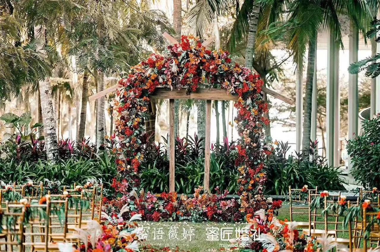 农村结婚大门装饰图片 结婚农村门口装饰图片