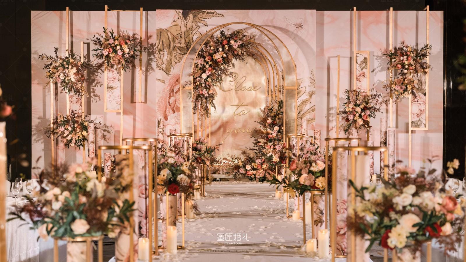 韩式婚礼迎宾区设计 婚礼迎宾区设计