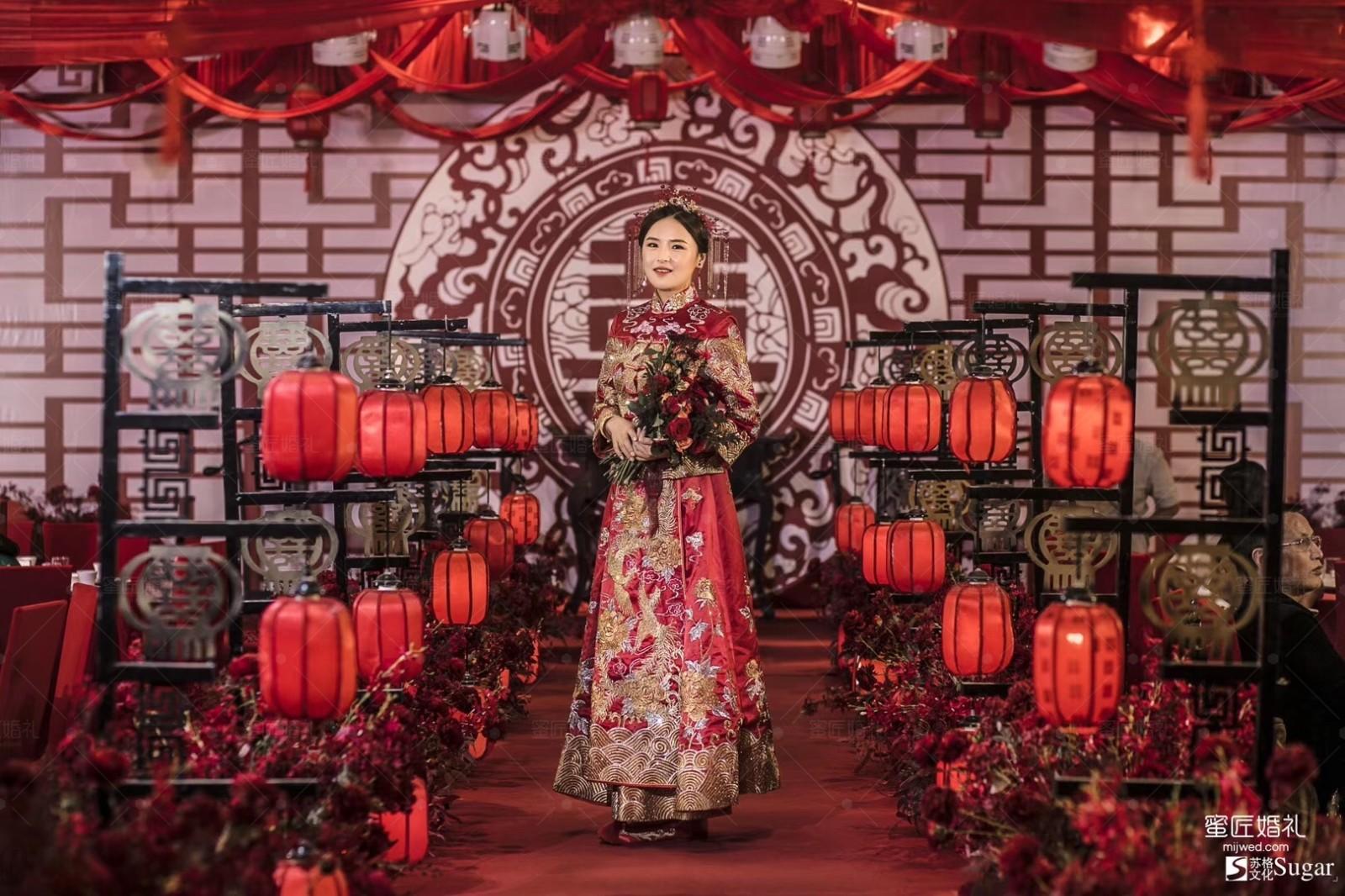 中式婚礼现场布置2020 婚礼布置现场图片2020