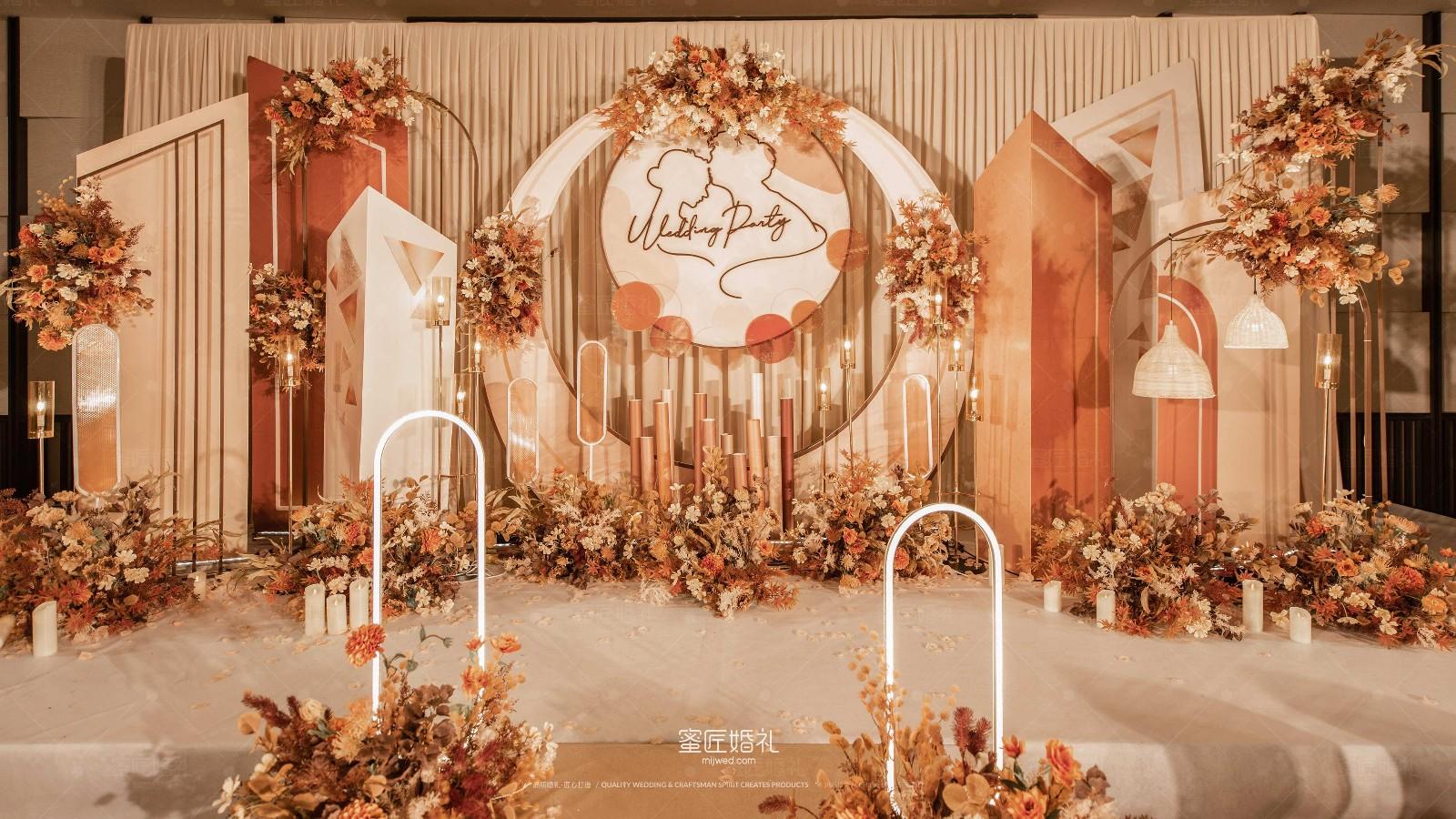 好看的婚礼布置图片 酒店婚礼布置图片大全
