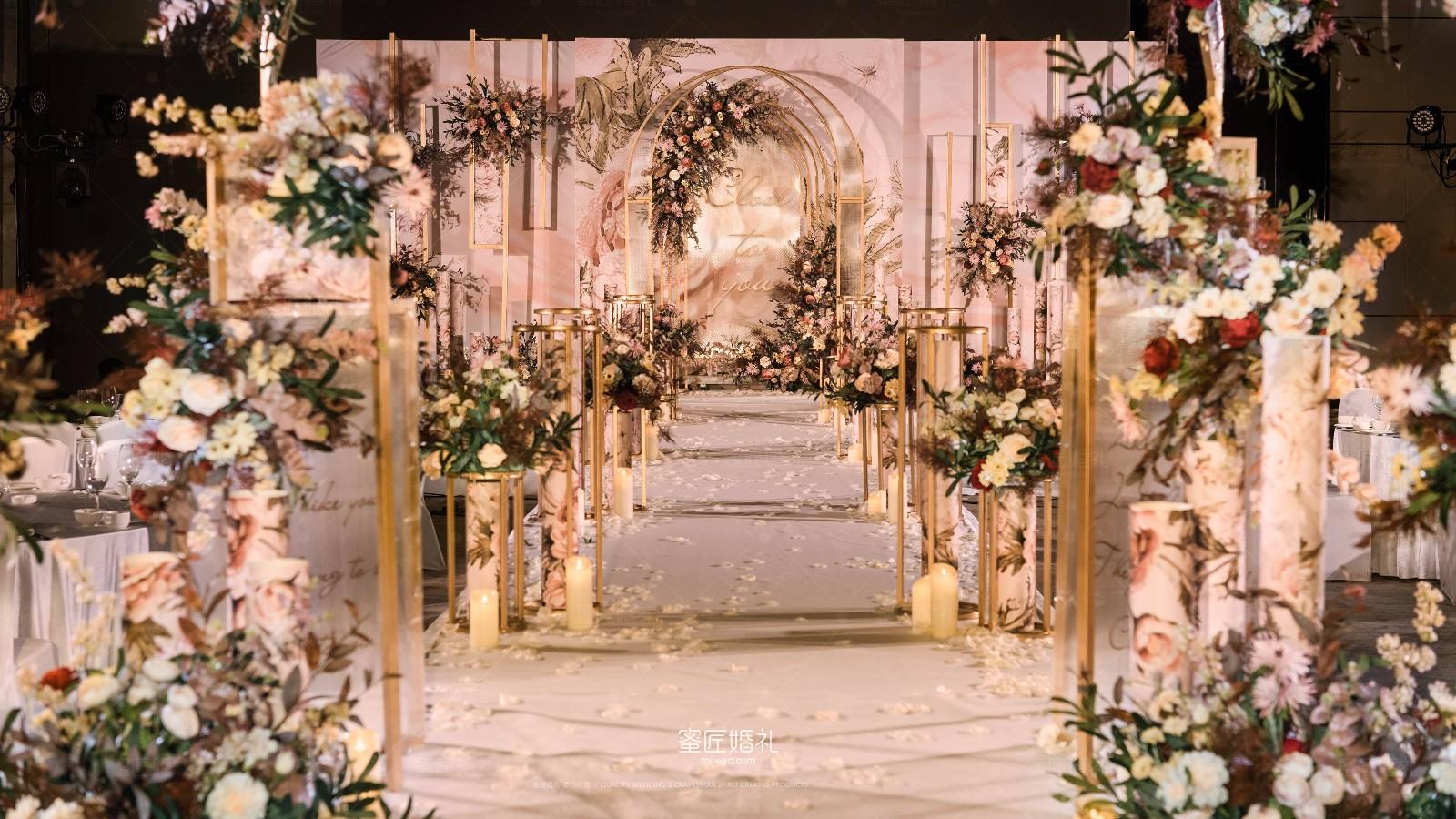 2020较新婚礼场景布置