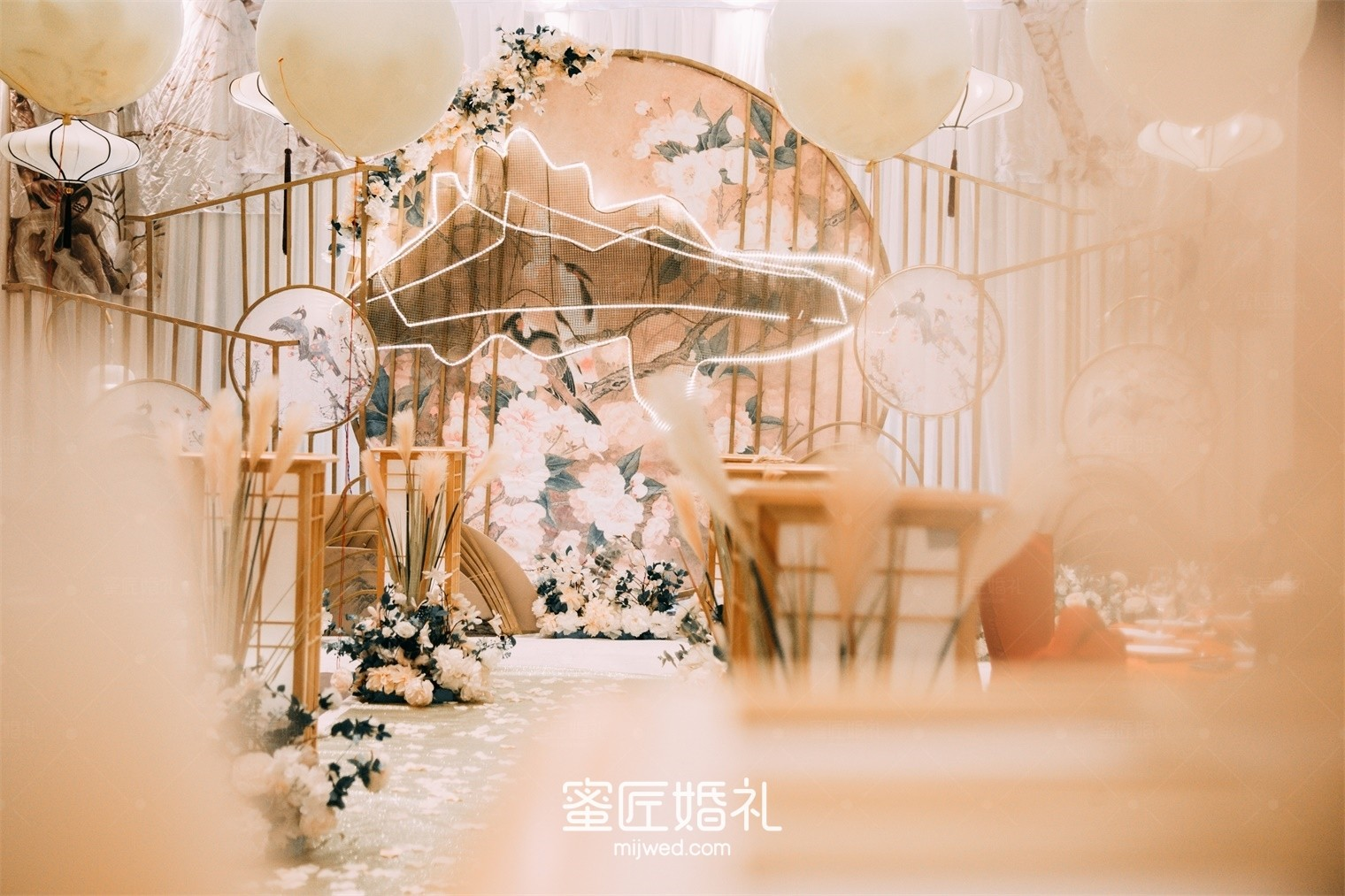 春节婚礼迎宾牌