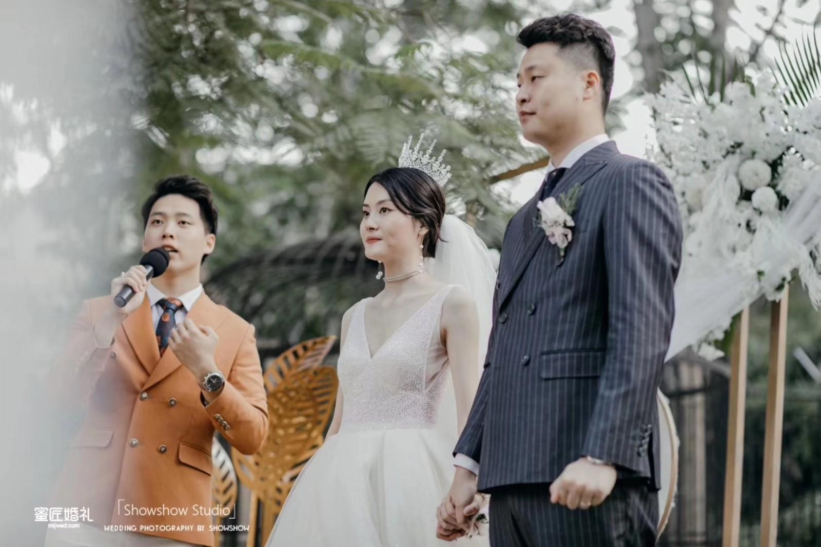 婚礼上简短的表白情话