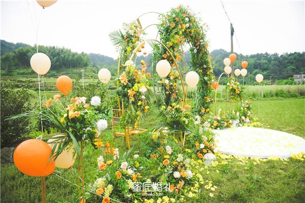 长沙森系小清新婚礼主题