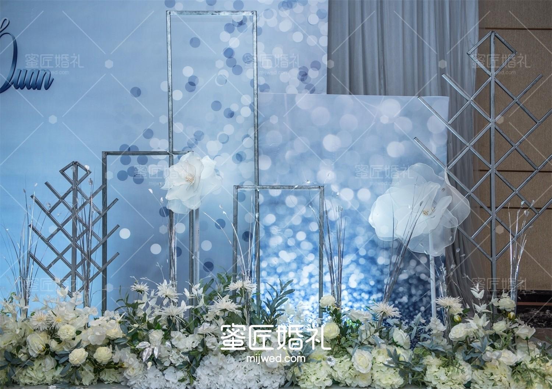 欧式婚礼现场布置效果图