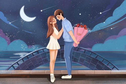 浪漫爱情句子短句