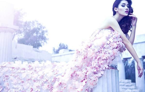 结婚穿什么颜色的婚纱 结婚可以穿粉色婚纱吗