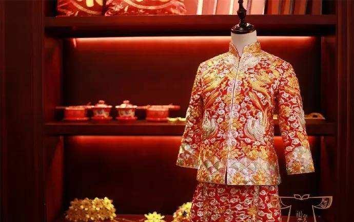 国庆节中式婚礼新娘礼服 新娘婚礼礼服中式
