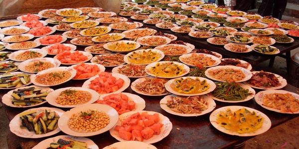 忆境江南花园酒店订婚菜单有哪些菜