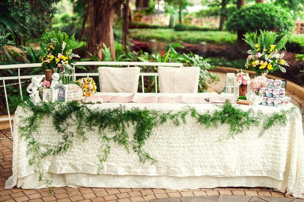 婚礼签到台有意义吗 婚礼签到留影区布置图片