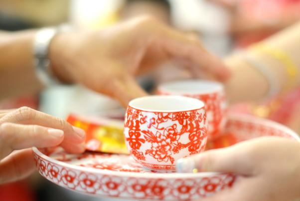 结婚敬茶流程和话术