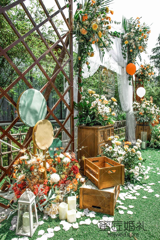 小清新的婚礼主题风格你不来看看吗