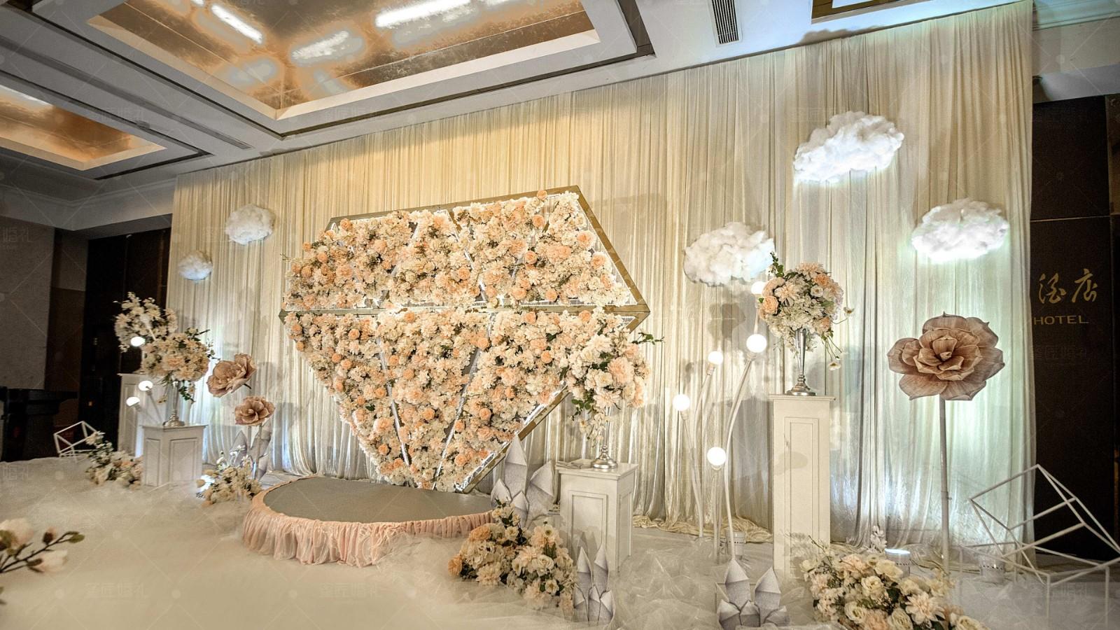 浪漫婚礼现场布置方法 婚礼现场布置效果图浪漫
