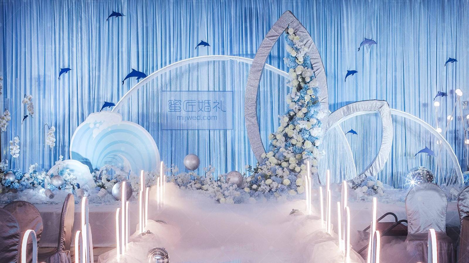 室内婚礼场地布置图片