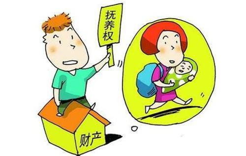 离婚小孩抚养权怎么判定2021