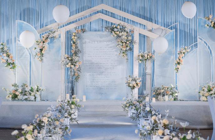 西式婚礼创意流程