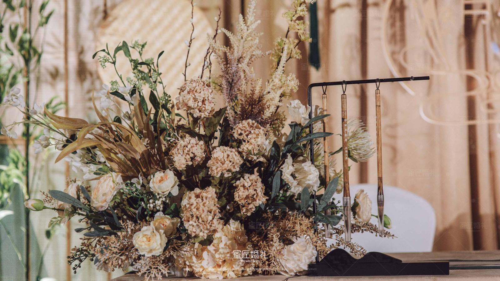 中式古风婚礼现场布置