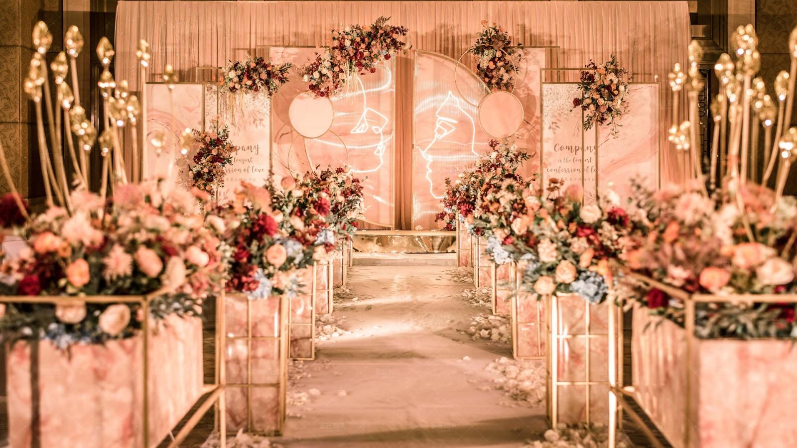 浪漫创意婚礼现场布置 有创意的婚礼现场布置方案