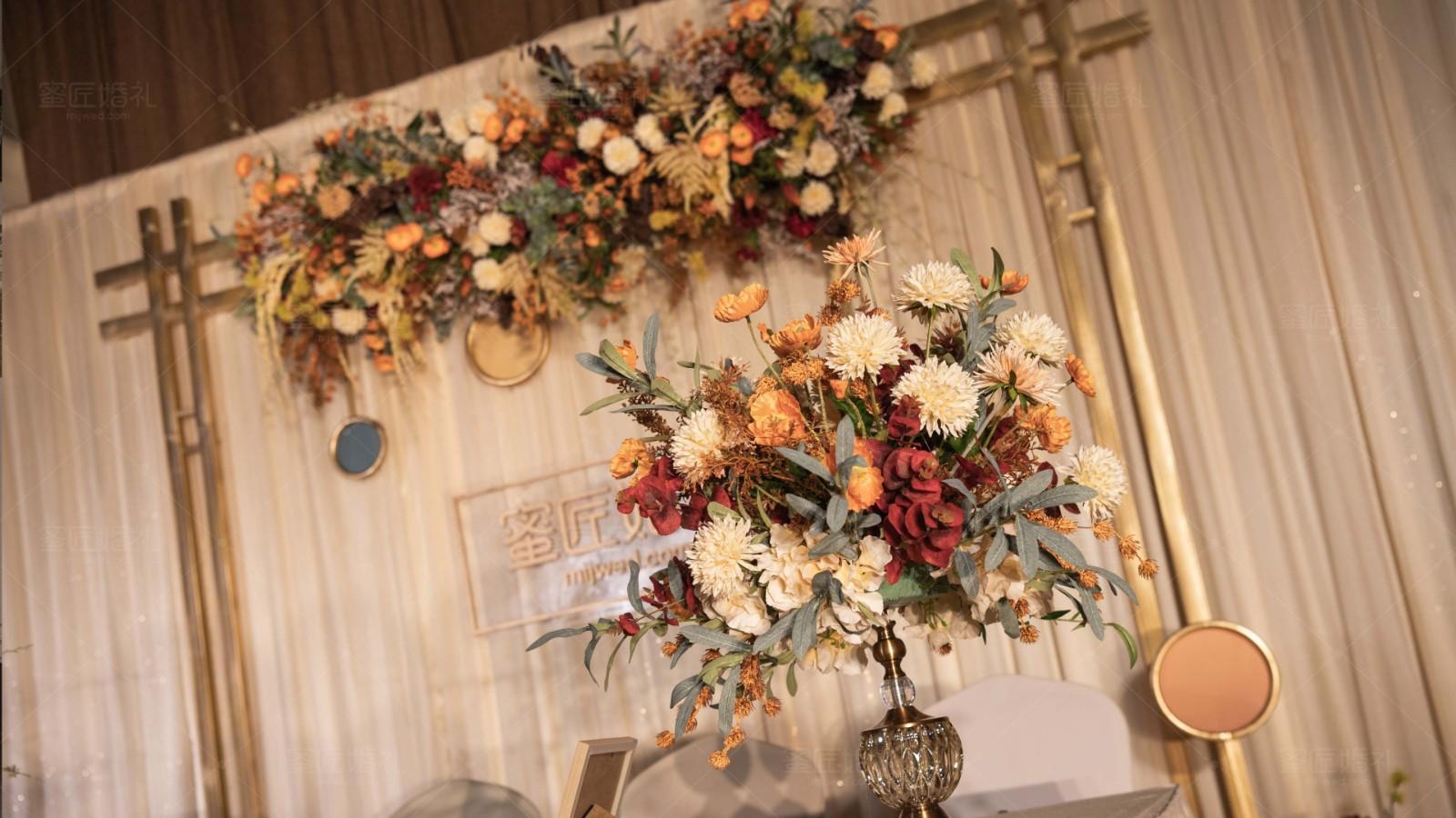 有创意的婚礼现场布置