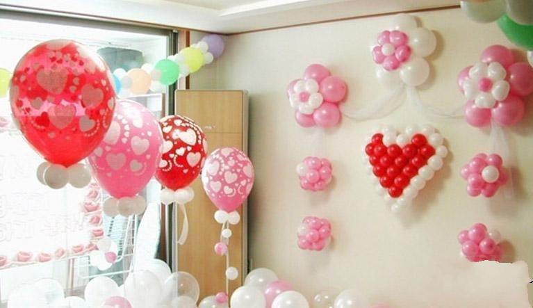 墙上怎么贴心形气球 墙上心形气球怎么摆成心形
