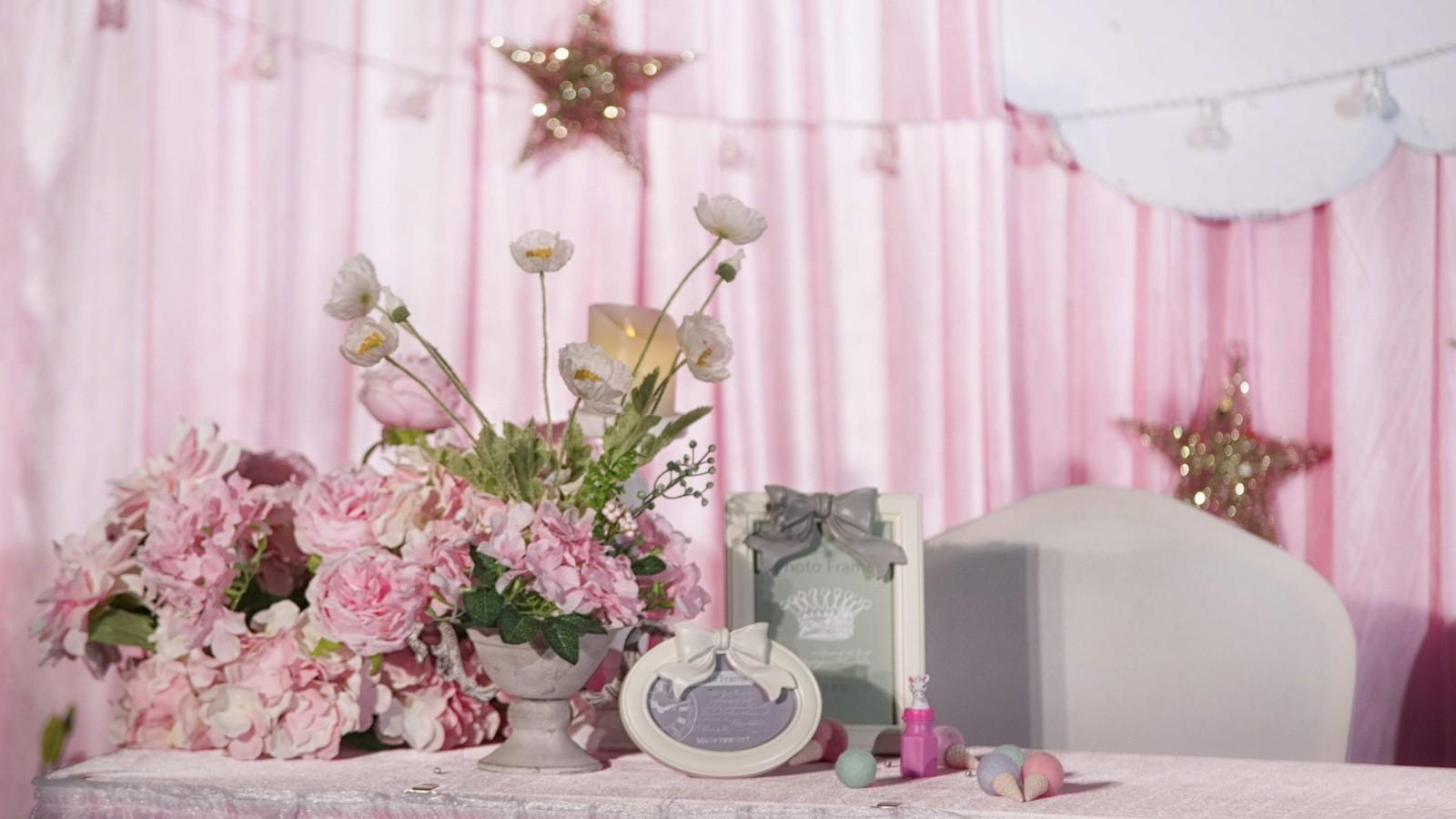 粉色主题的婚礼策划 浪漫的粉色婚礼