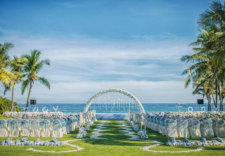 西式婚礼现场布置 西式婚礼的现场布置