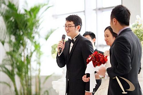 媒人在婚礼上的讲话