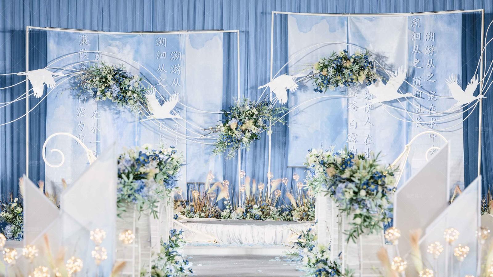 娄底的露天婚礼多少钱 娄底露天婚礼布置效果图