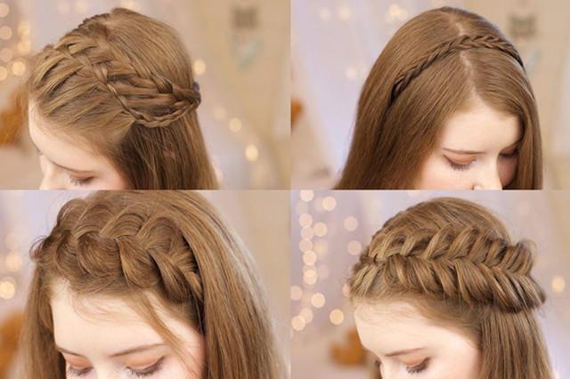 十个伴娘的简单发型 伴娘发型简单大气