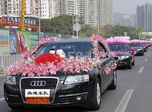婚车怎么搭配
