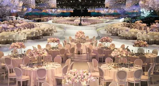 小型婚礼现场怎么布置