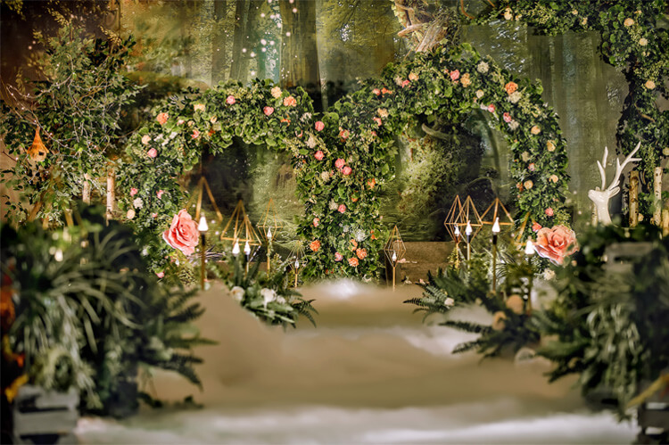 仙境小筑主题婚礼