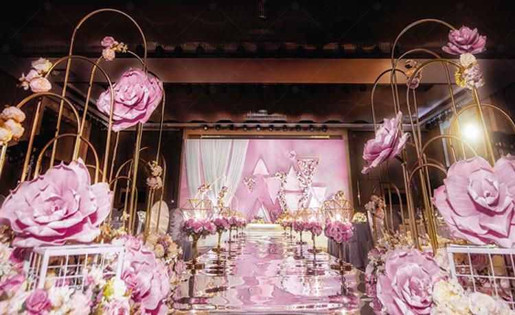 BABY粉主题婚礼