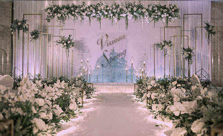 蒲城县婚礼策划方案:清漾林语